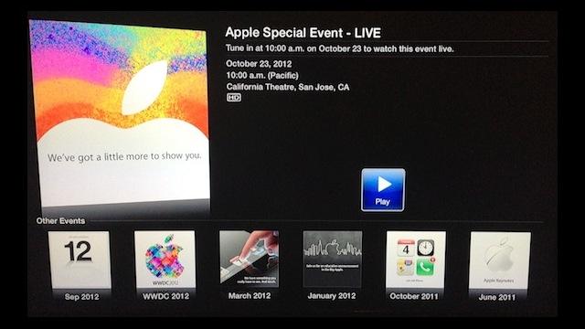 Se også på Apple TV.