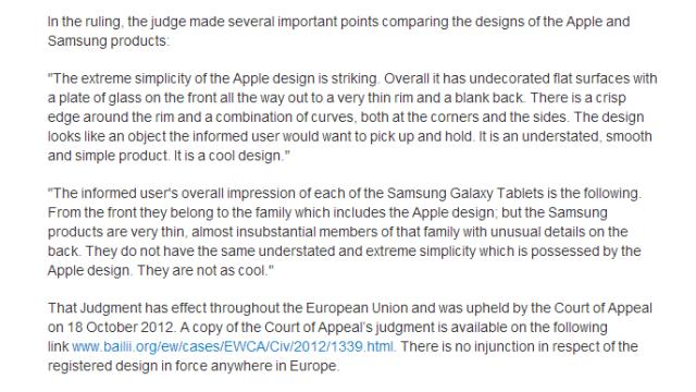 Apples dørgende kjedelige unnskyldningsbrev ovenfor Samsung fremstår mer som selvskryt enn noe annet.