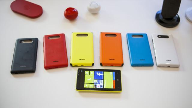 Deksler til Lumia 820.