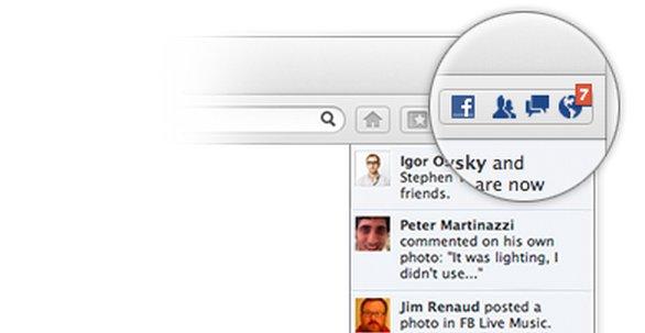 Du må ikke, men du kan aktivere Facebook så du til enhver tid er oppdatert uansett hvilken nettside du besøker.