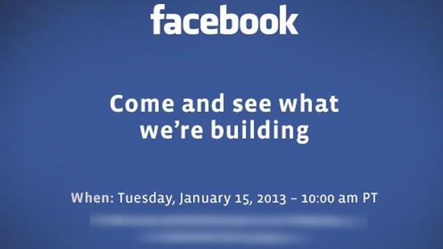 Slik ser invitasjonen til kveldens Facebook-arrangement ut.