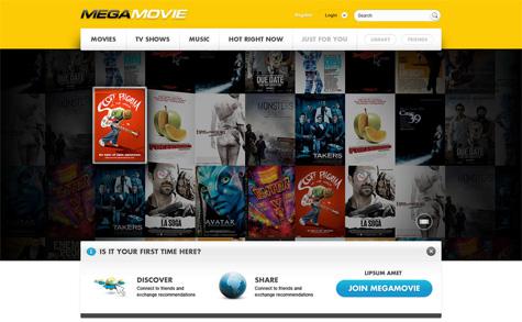 MegaMovie-lansering om ikke lenge? Prosjektet ble stoppet når Megaupload ble raidet, men Dotcom er på offensiven og vil kanskje prøve seg igjen.