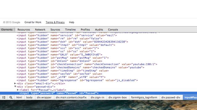 Litt HTML-triksing er alt som skal til.