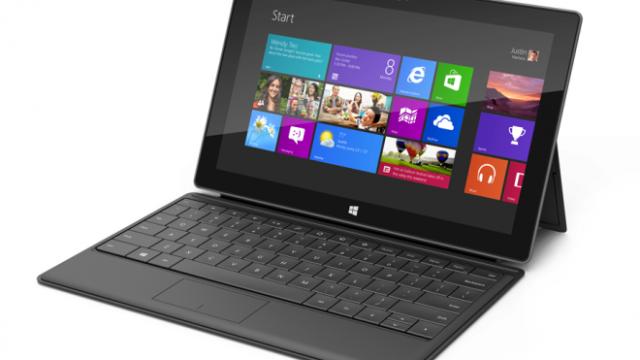Hele Microsofts markedsføringskampanje for Surface ble gjort i KeyShot.