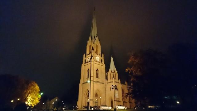 Xperia Z5 Bragernes kirke.