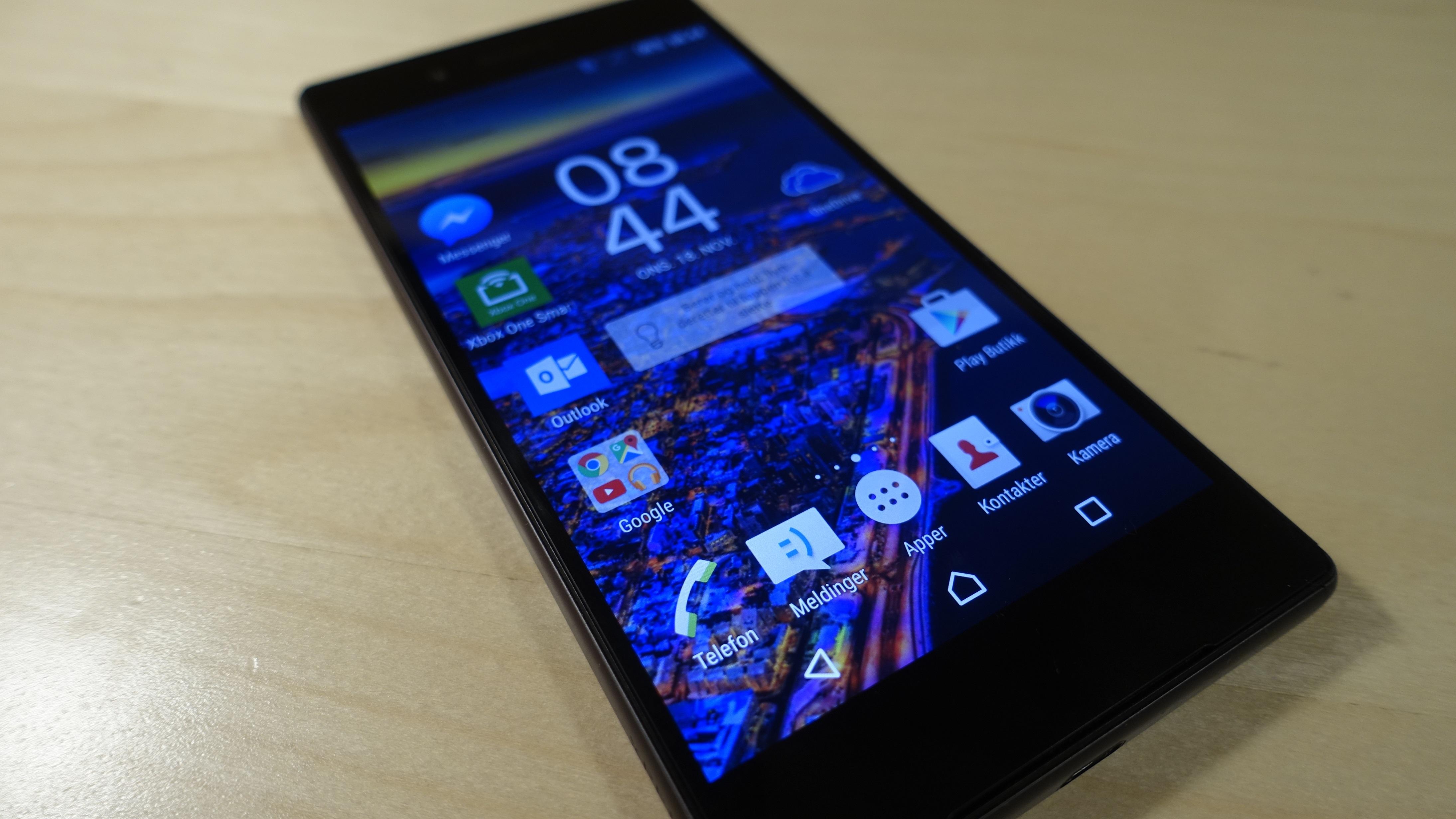 Sony Xperia Z5 imponerer oss.