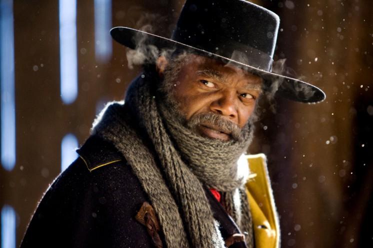 Samuel L. Jackson har en rolle i The Hateful Eight.
