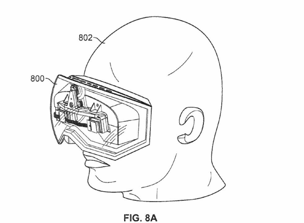 Et Apple VR-patent fra 2013.