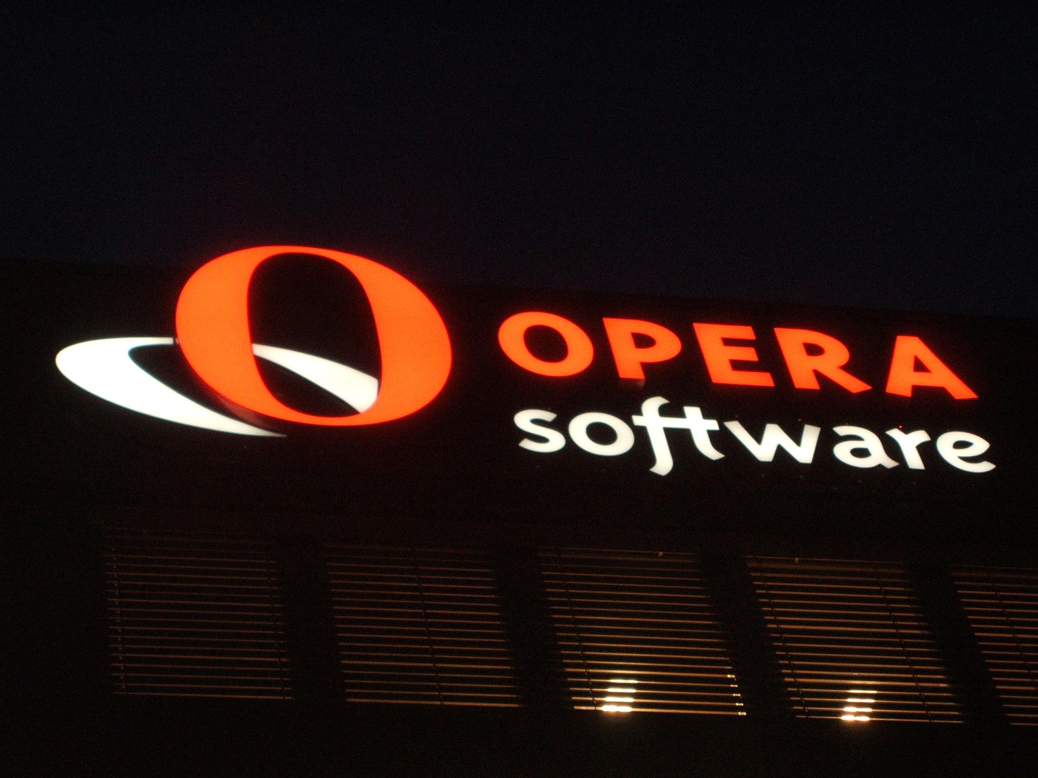 Handel i Opera Software aksjer ble stoppet på fredag.
