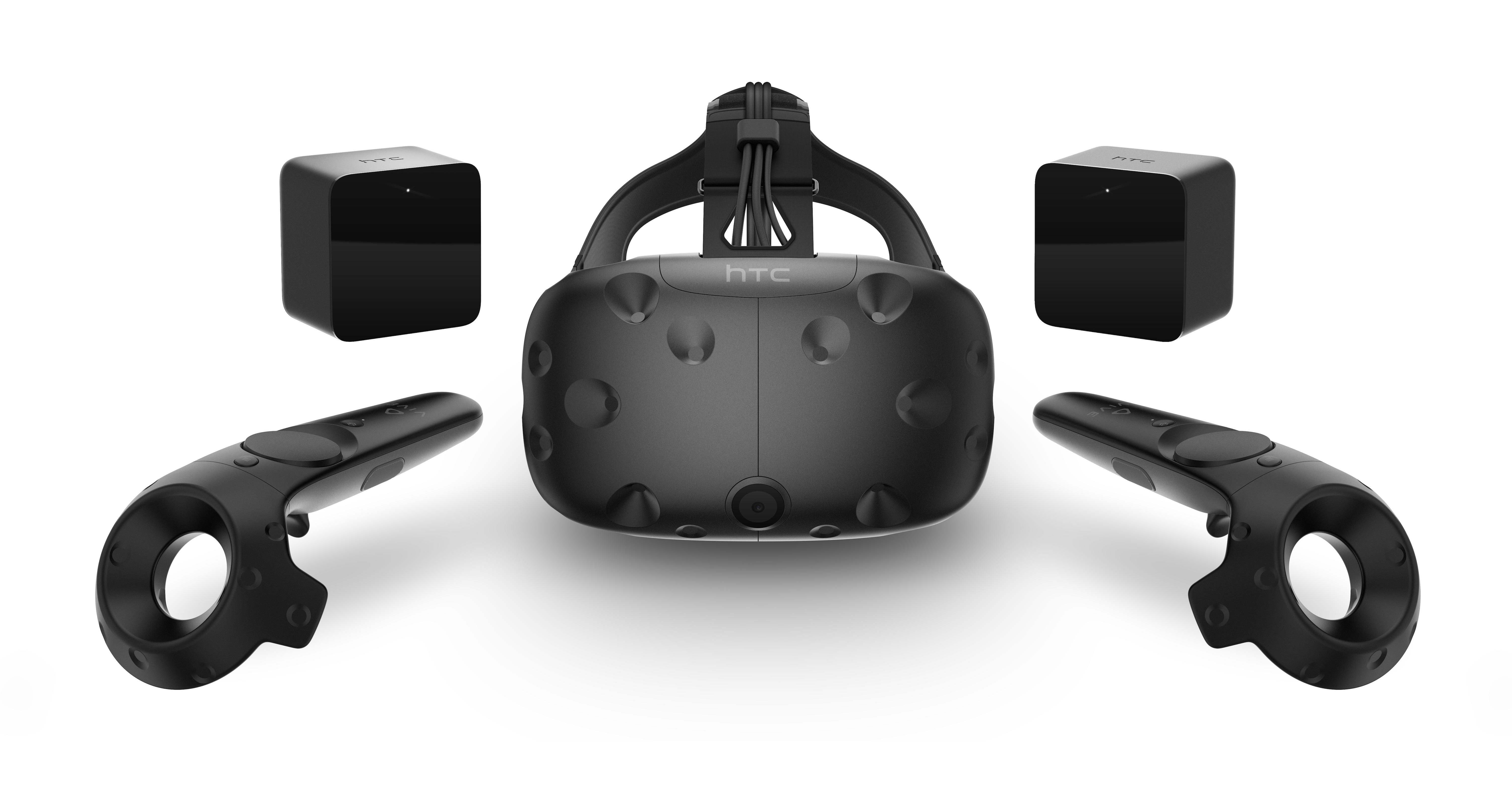 HTC Vive kan forhåndsbestilles i morgen.