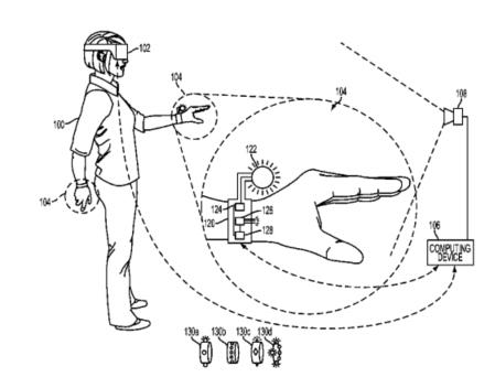 Bilder fra patenten til Sony.
