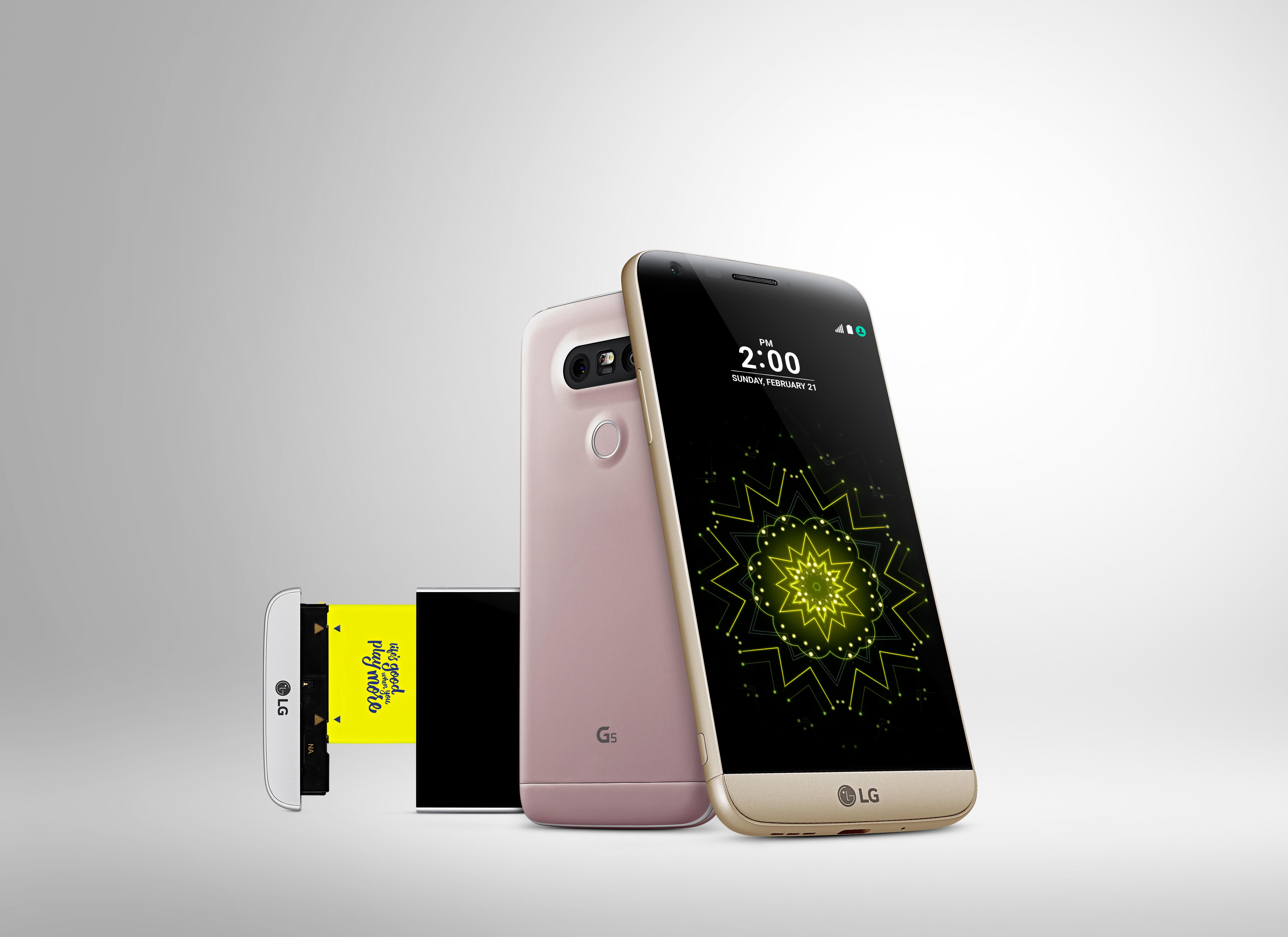 LGs G-serie er i fullt fokus fremover.