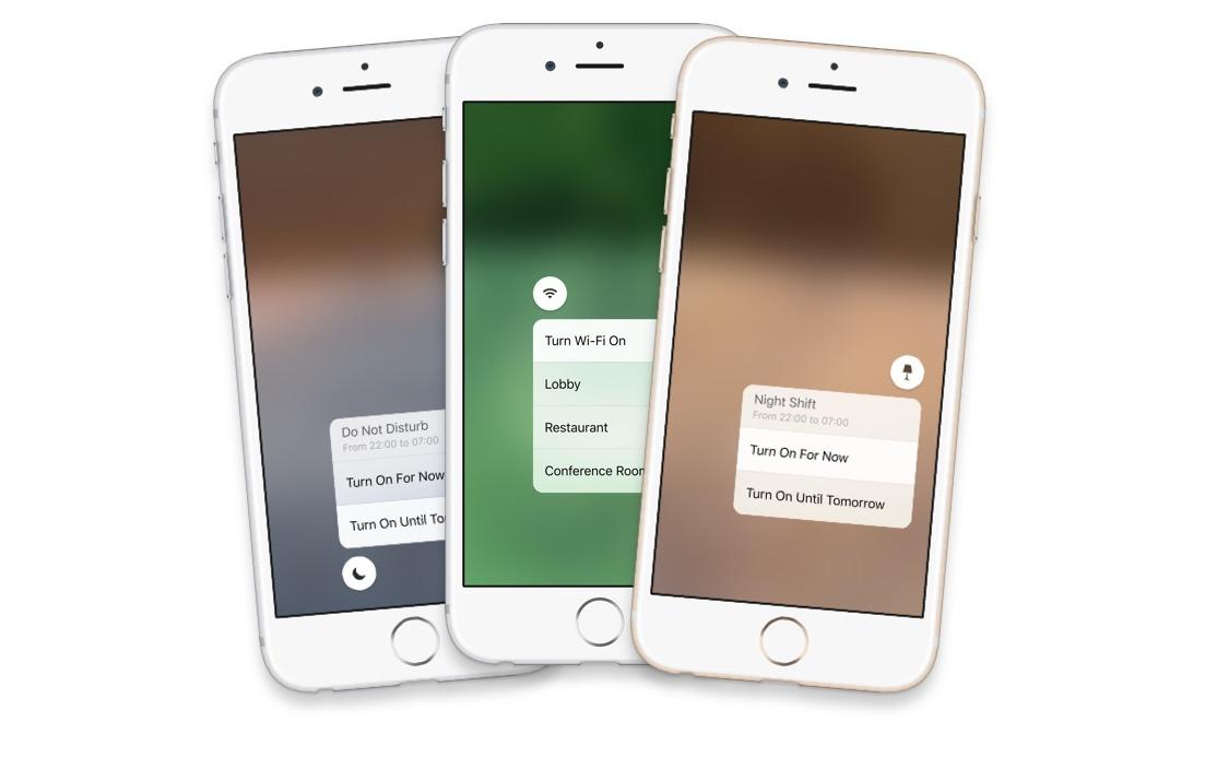 Sam Beckett - iOS X - Advanced Control Center Concept