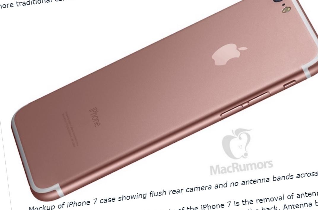 iPhone 7 kvitter seg trolig med antennestripene og får et kameraet som helt og holdent er bygget inn i designet.
