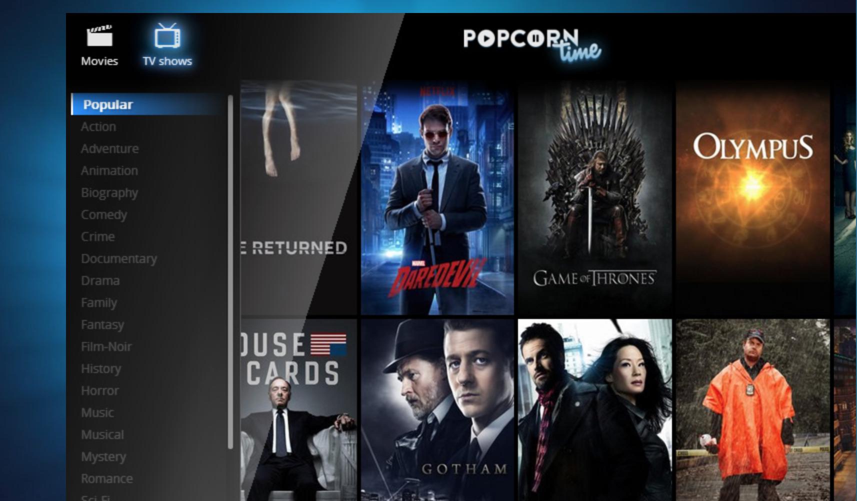 Nå trenger ikke lenger TV- og film-pirater et dedikert program for å se pirat-innhold - det holder å bruke en nettside med en torrent-utvidelse.