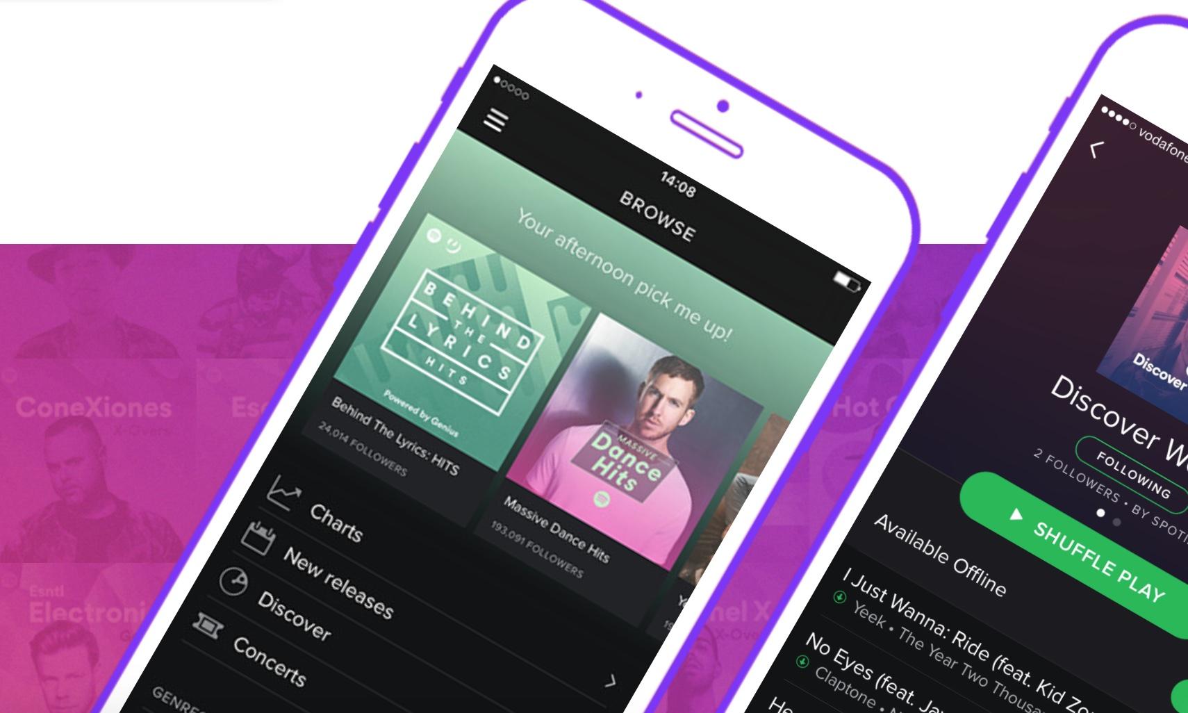 Spotify gjør det bra, men de store artistene er fortsatt spredt utover konkurrerende tjenester.