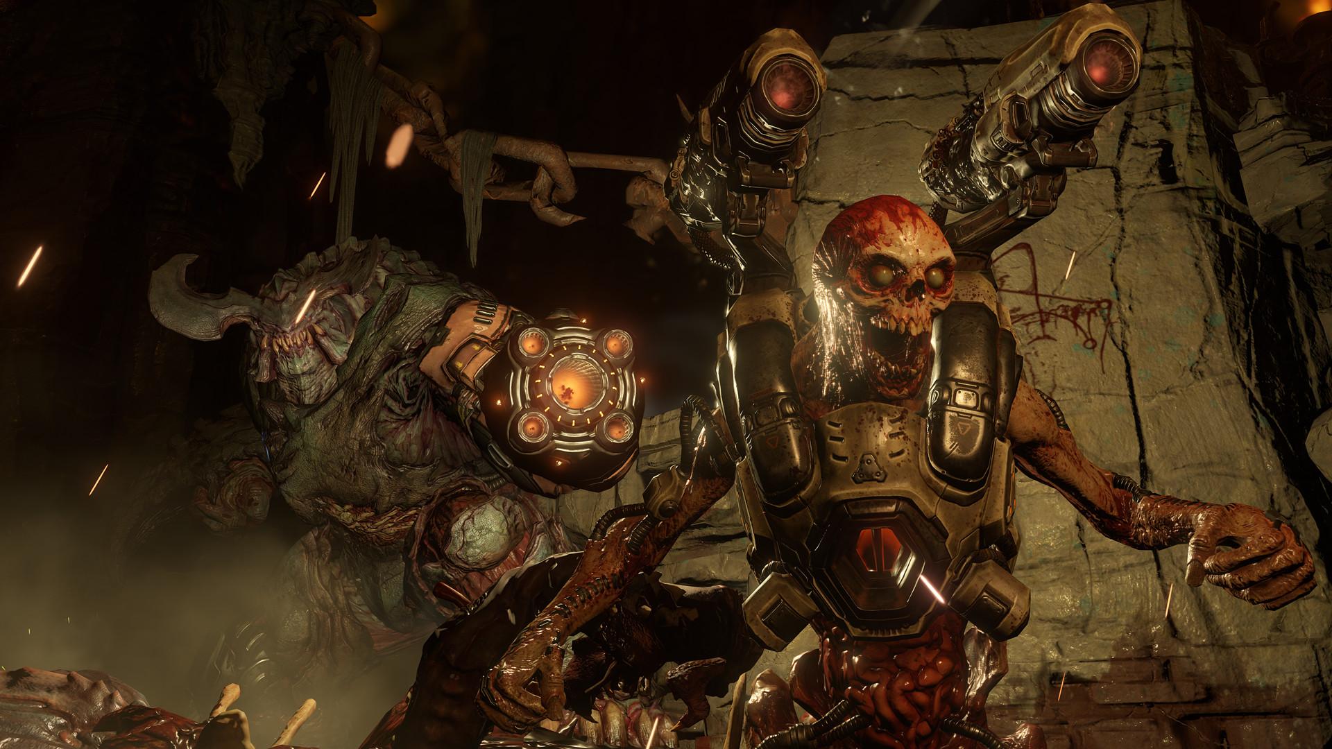 Doom kommer i mai. Vi gleder oss en hel del.