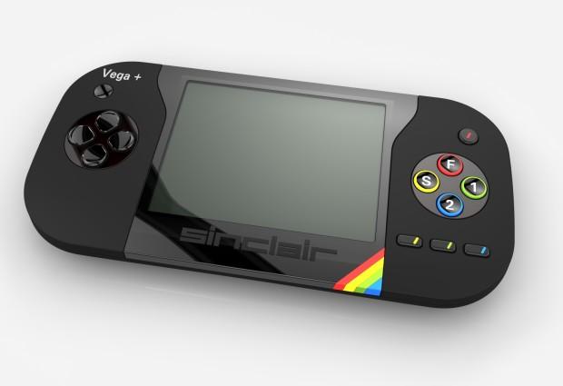 Konsept fra Rick Dickinson. Samme mann designet alle Clive Sinclair sine ZX-datamaskiner.