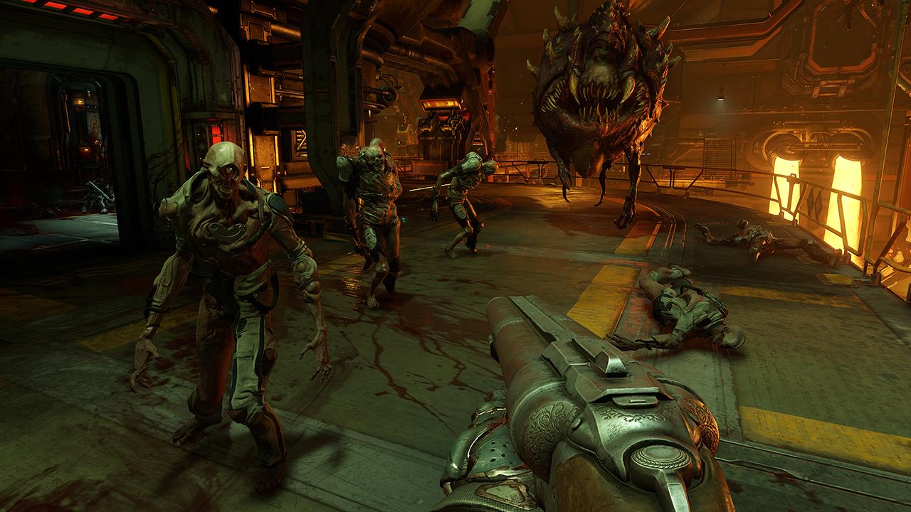 Doom-flerspilleren starter 31. mars for de som har kjøpt Wolfenstein: A New Order.