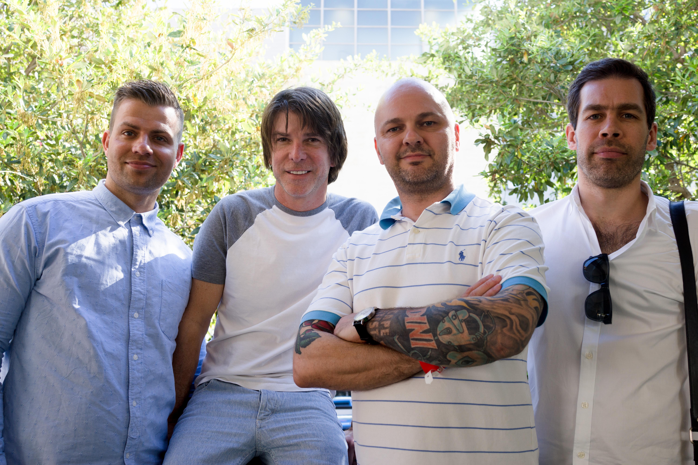 Fra venstre: Frode Alver Nilsen, Alex Luke, Kenneth Rasmus Greve og Baste Christiansen.