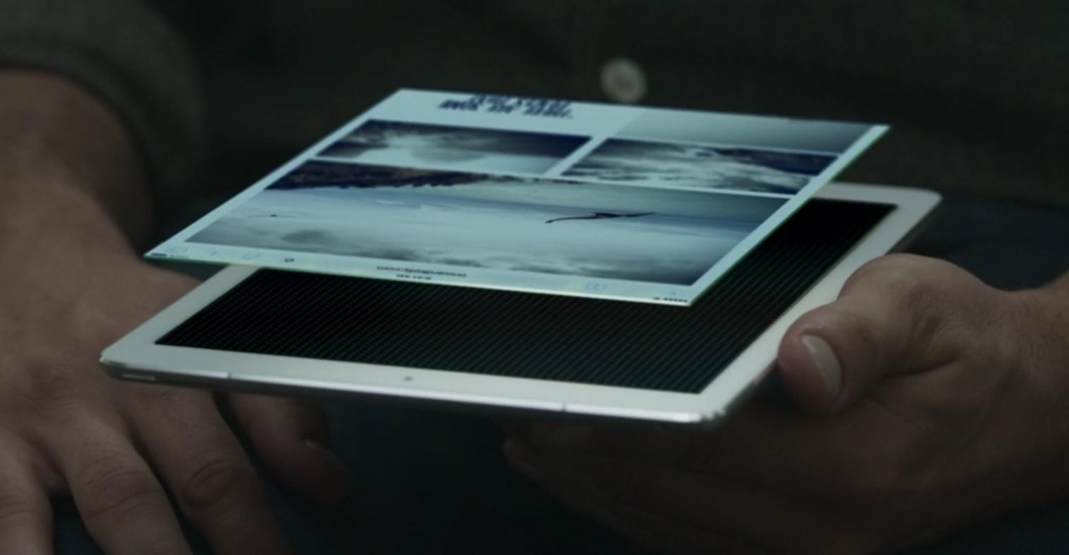 iPad Pro 9,7 har et panel som ikke bare justerer lysstyrken automatisk, men også kald og varm farge.