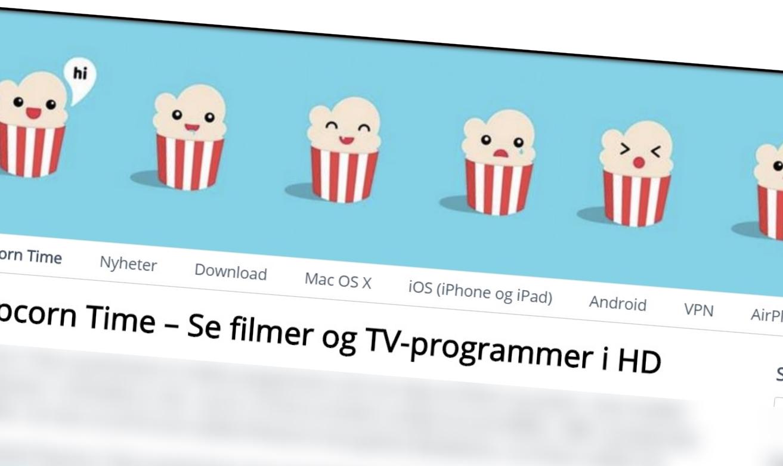 Popcorn-Time.no var en bitteliten nyhetsside som skrev om piratstrømmeprogramvaren - nå er domenet tatt av Økokrim.