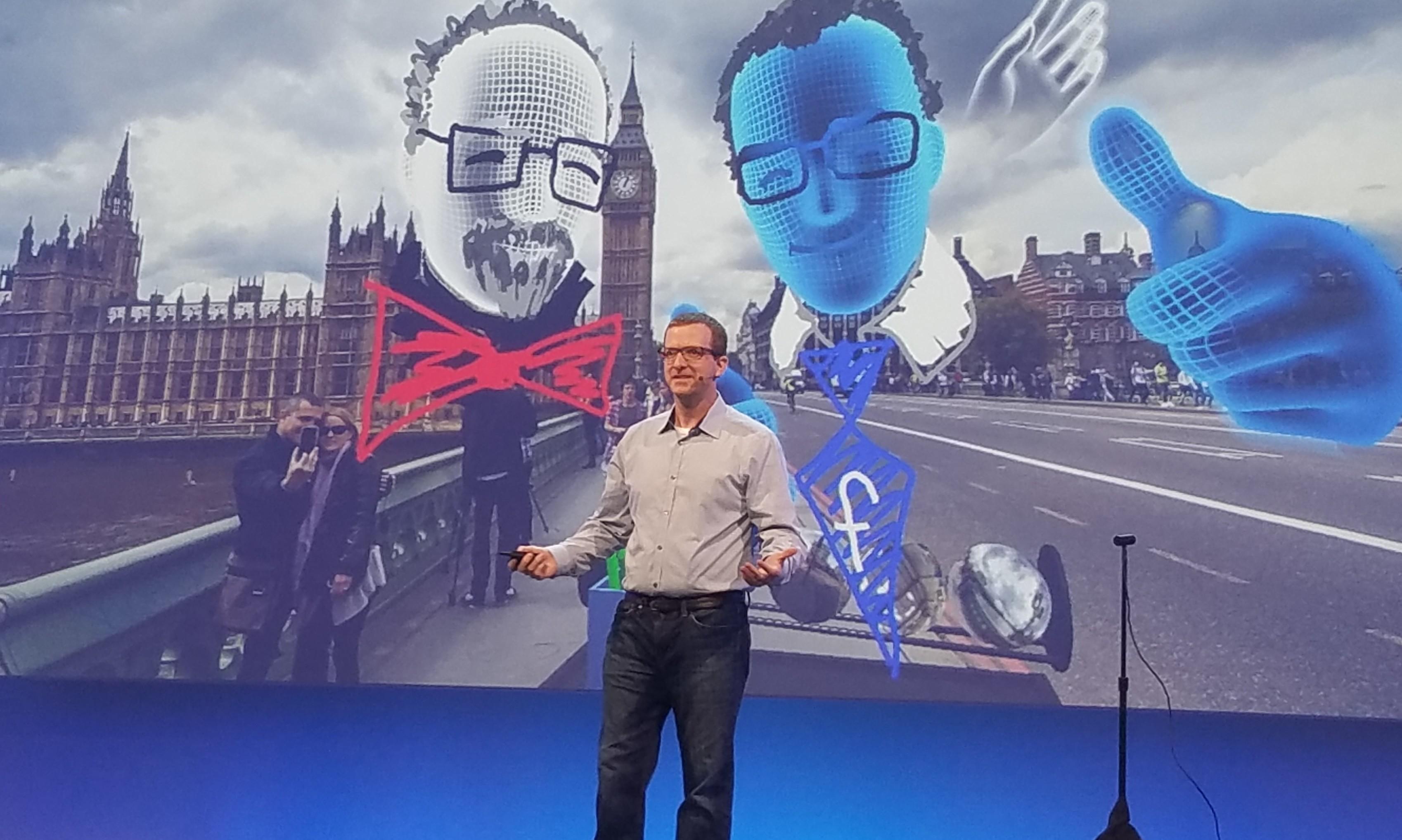Facebook demonstrerte hvordan de allerede nå, med Oculus Rift og Oculus Touch, hvordan man kan reise med venner inn i 360-bilder.