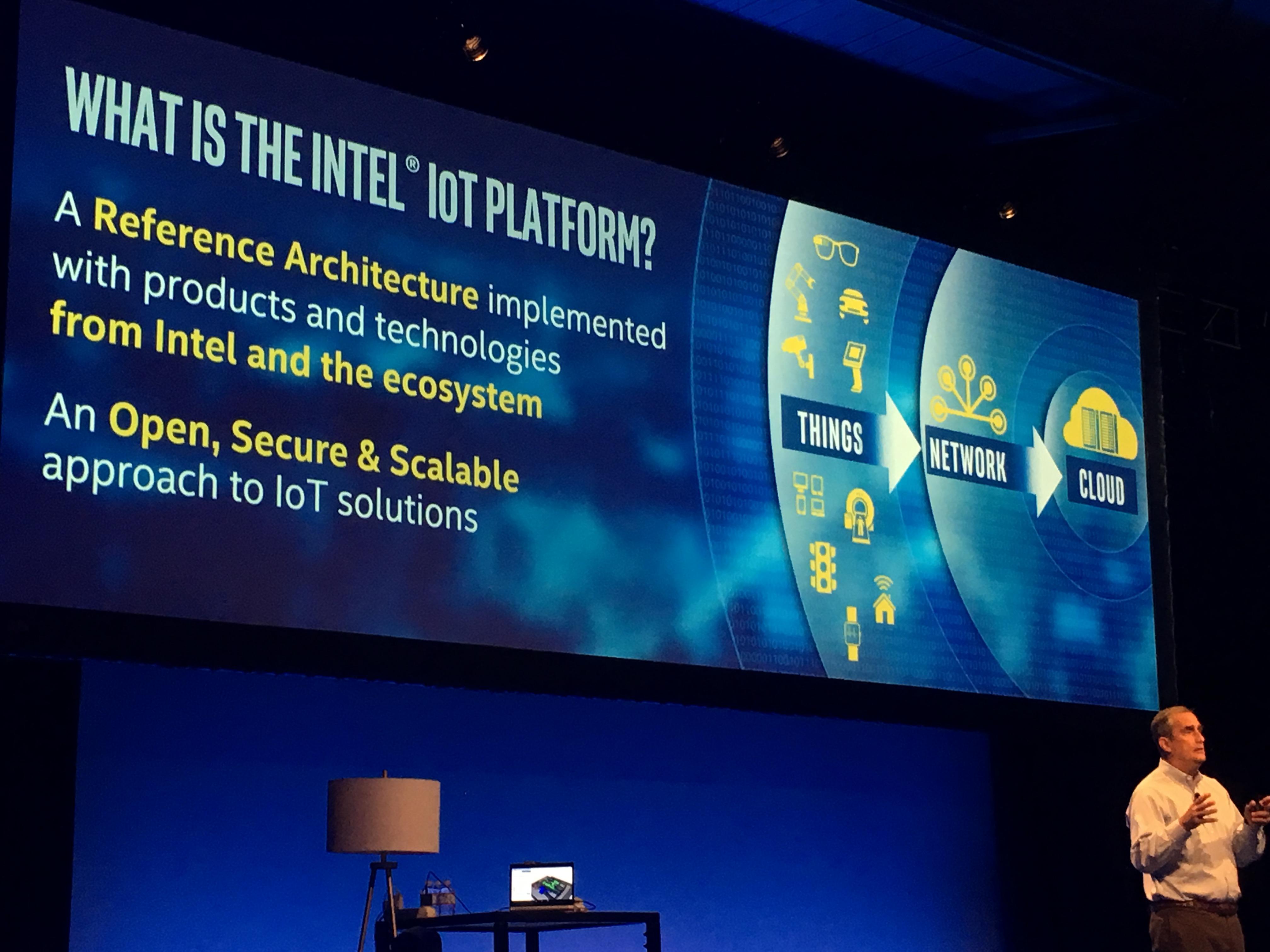Intel gjør alvor av sine IoT-planer ved å omstrukturere selskapet.