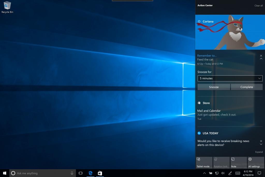 Den nye Windows 10-versjonen inneholder en rekke forbedringer som gjør helhetsopplevelsen bedre.