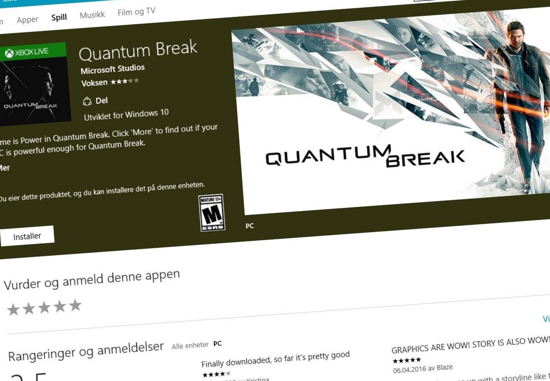 Overgangen fra Win32-spill til nye Universal App Platform kommer til å forbli smertefullt for spillere en stund til.