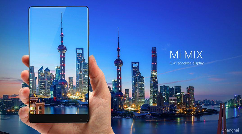 Xiaomi Mi Mix er en meget spennende konseptmobil.