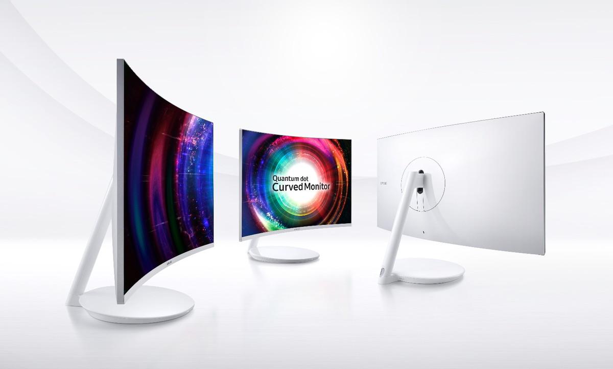 De nye spillskjermene til Samsung er svært pene.