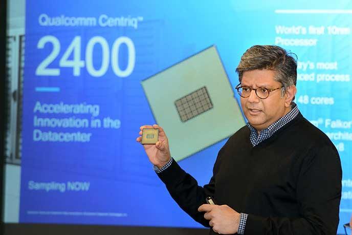 Dette er Qualcomms nye brikkesett, Centriq 2400.