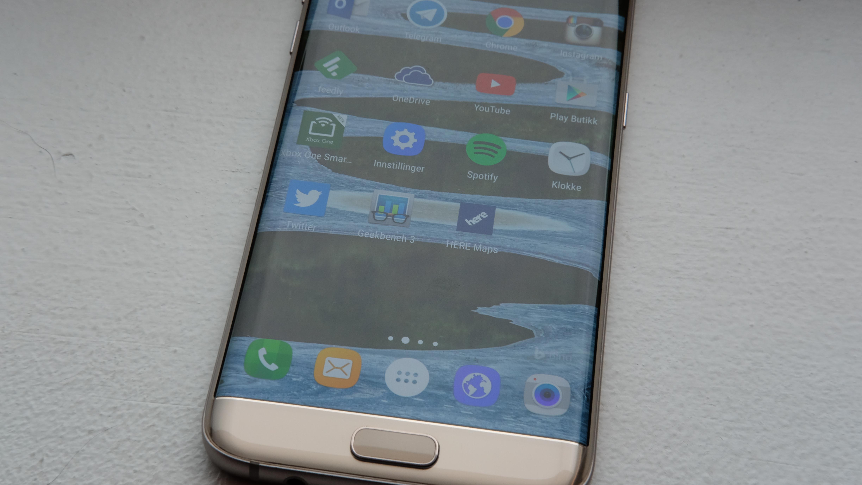 Flere Galaxy S7-eiere opplever at kameraglasset knuses.