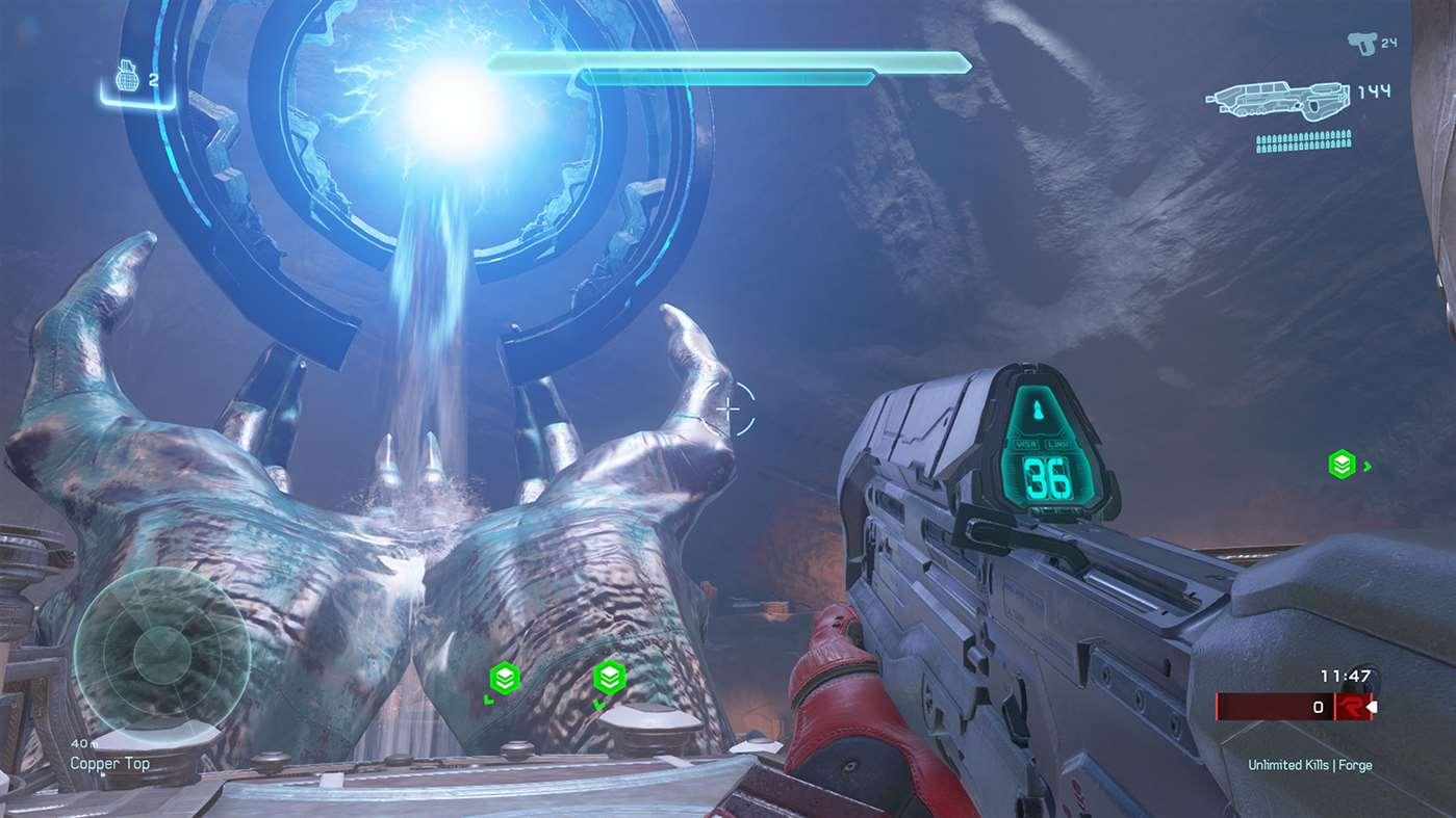 Microsoft slipper storoppdatering til Halo 5: Forge på PC.