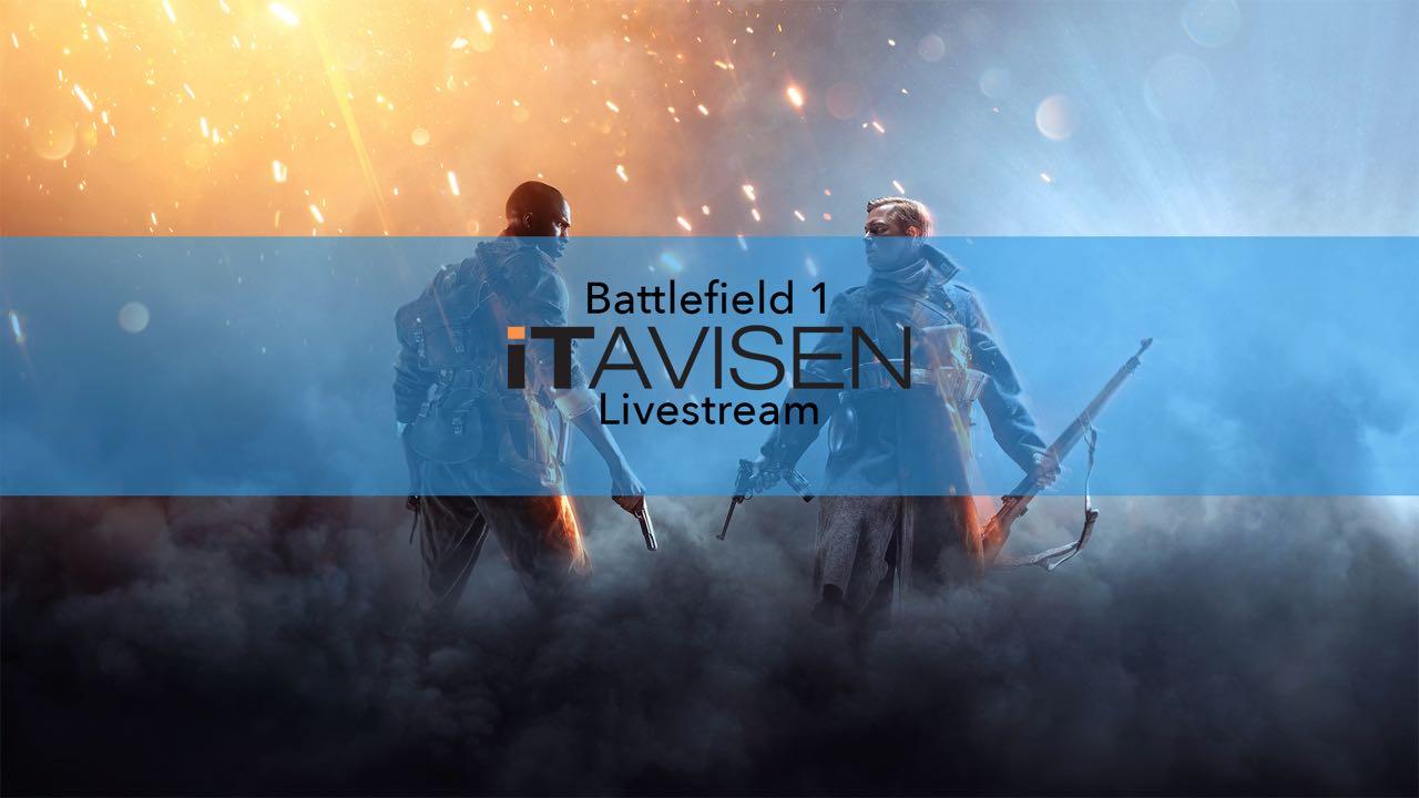 ITavisen spiller Battlefield 1, og du er invitert.