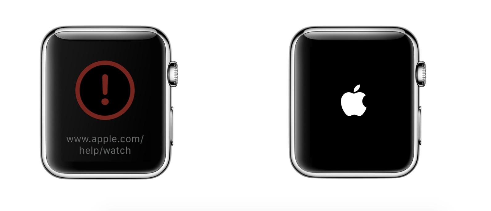 Apple sliter med å levere kvalitetssikret programvare. Ser du denne på din Series 2, prøv omstart, om ikke det går må du kontakte Apple.