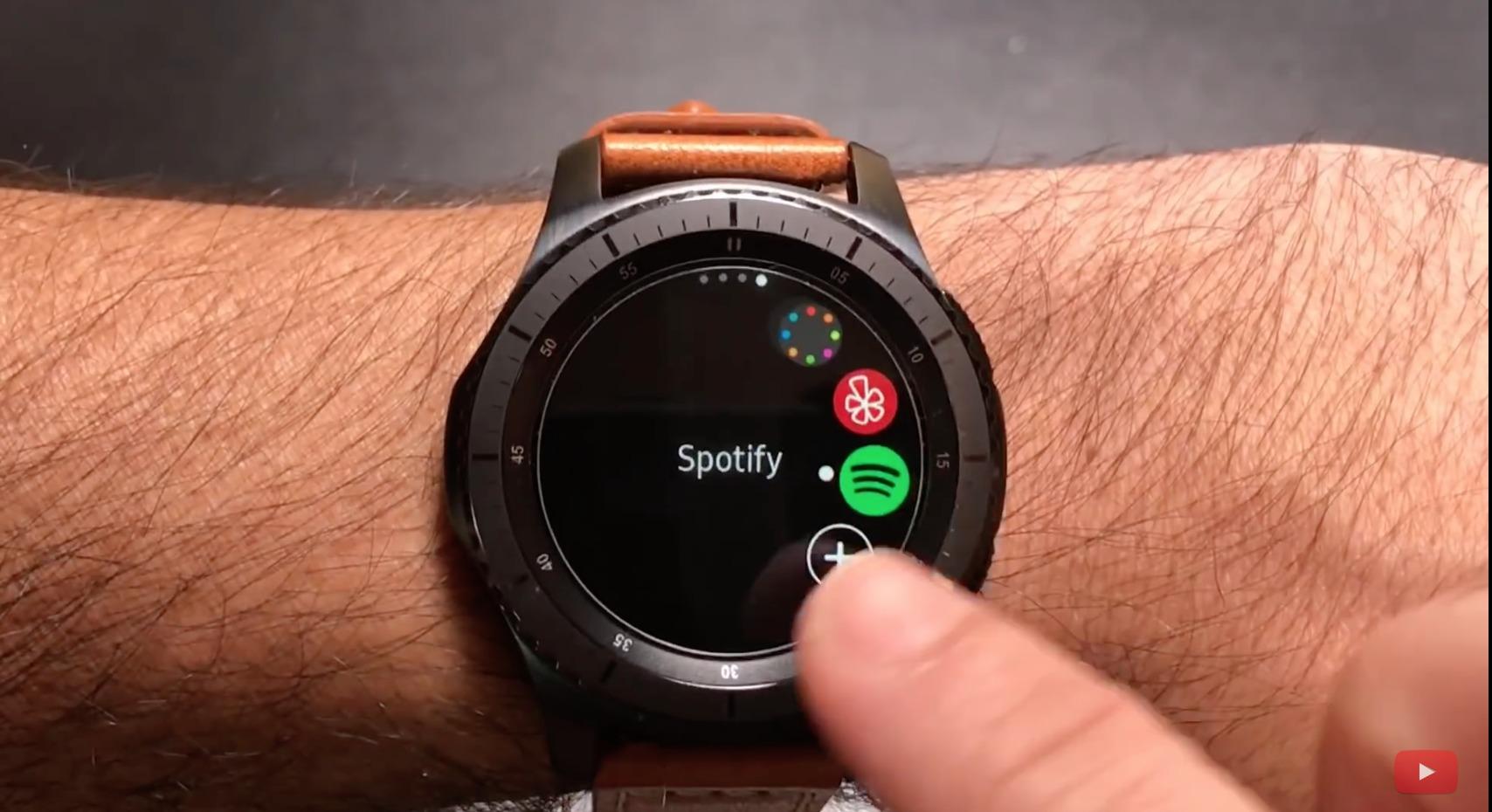Spotify er klar for Samsung Gear S3.
