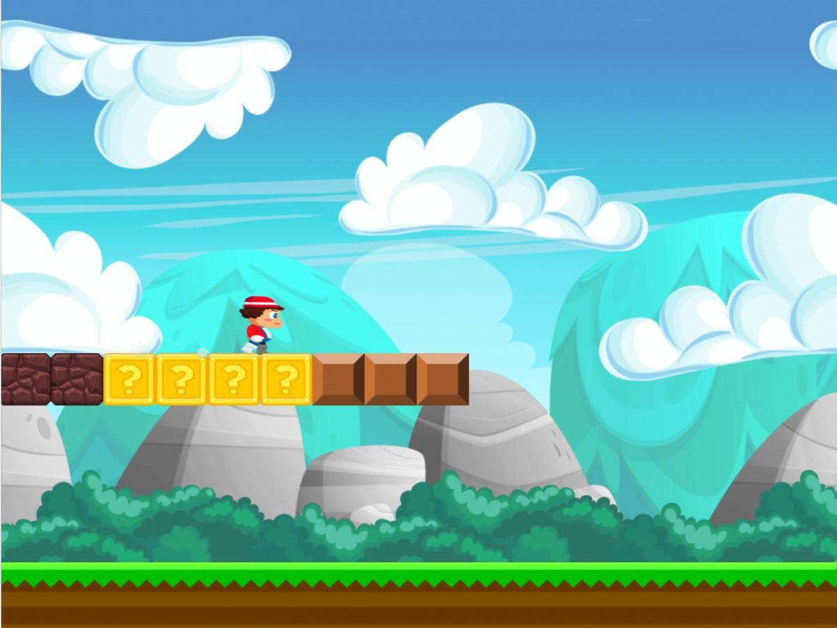 Super Plumber Run er en klone av Super Mario Run.