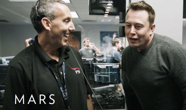 Elon Musk og SpaceX vil hjelpe oss med å kolonisere Mars, mener journalist og forfatter Stephen Petranek.