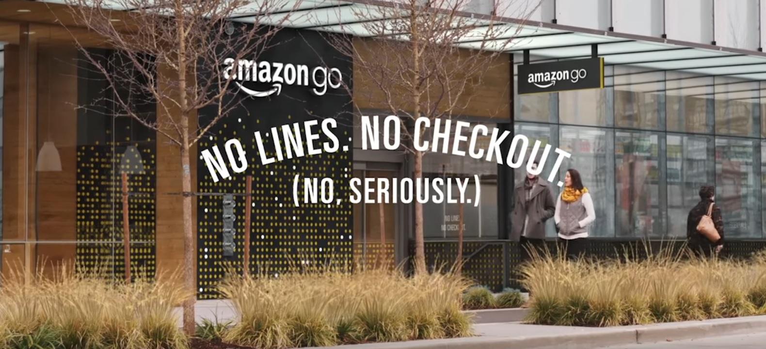 Amazon åpner matbutikker neste år. I Go-butikkene er det ingen kasser: Bare putt produktene i kurven og butikken vet hva du handler.