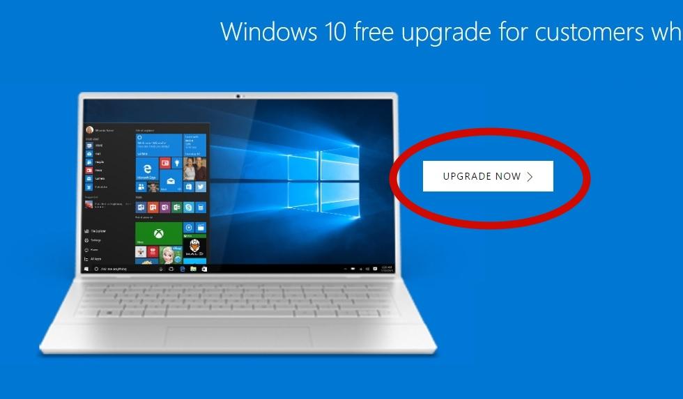 Har du spesielle behov kan du fremdeles gratis-oppgradere fra Windows 7 og Windows 8.1.