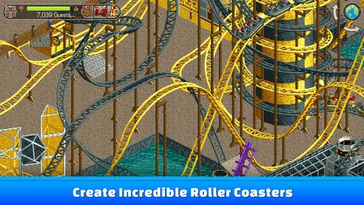 RollerCoaster Tycoon Classic er tilgjengelig for Android og iOS.