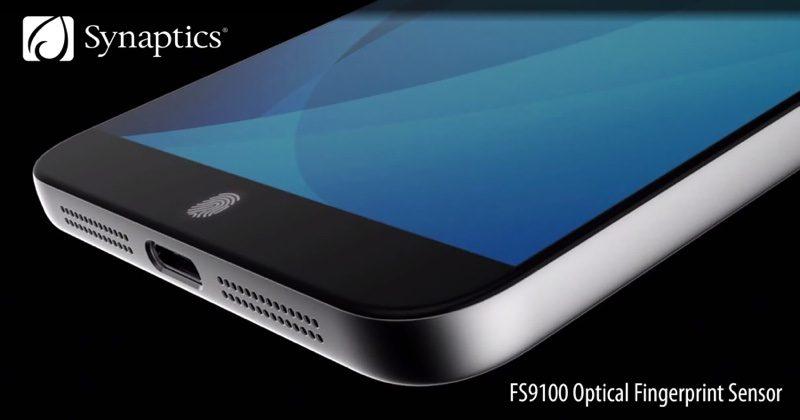 Synaptics skal lansere en serie med optiske fingersensorer som fungerer selv om de er begravet under skjermen.