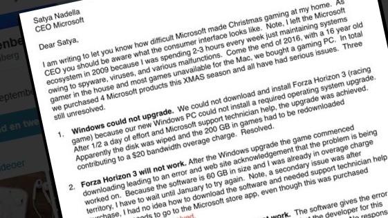 Steven Rosenberg var ikke fornøyd med sin «Microsoft-jul».