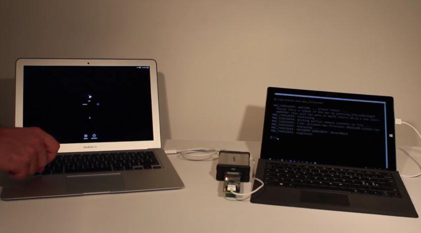 Svenske Ulf Frisk viser hvordan man enkelt kan hacke en MacBook.