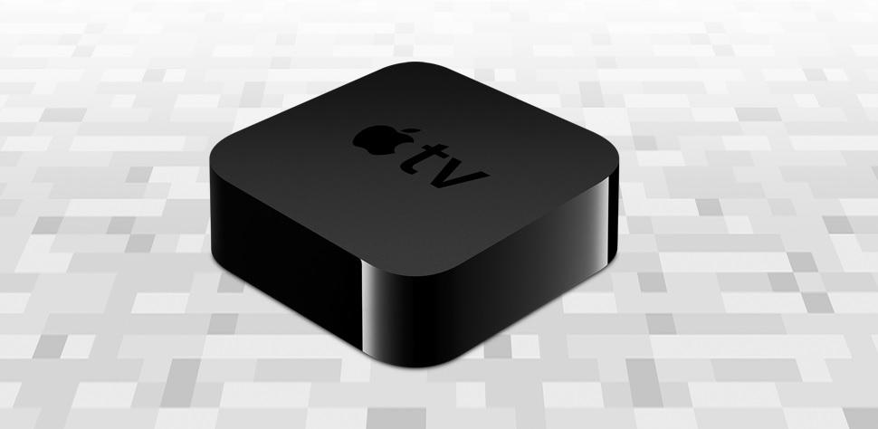 Det populære svenskeutviklede spillet Minecraft er å finne på Apple TV 4 nå.