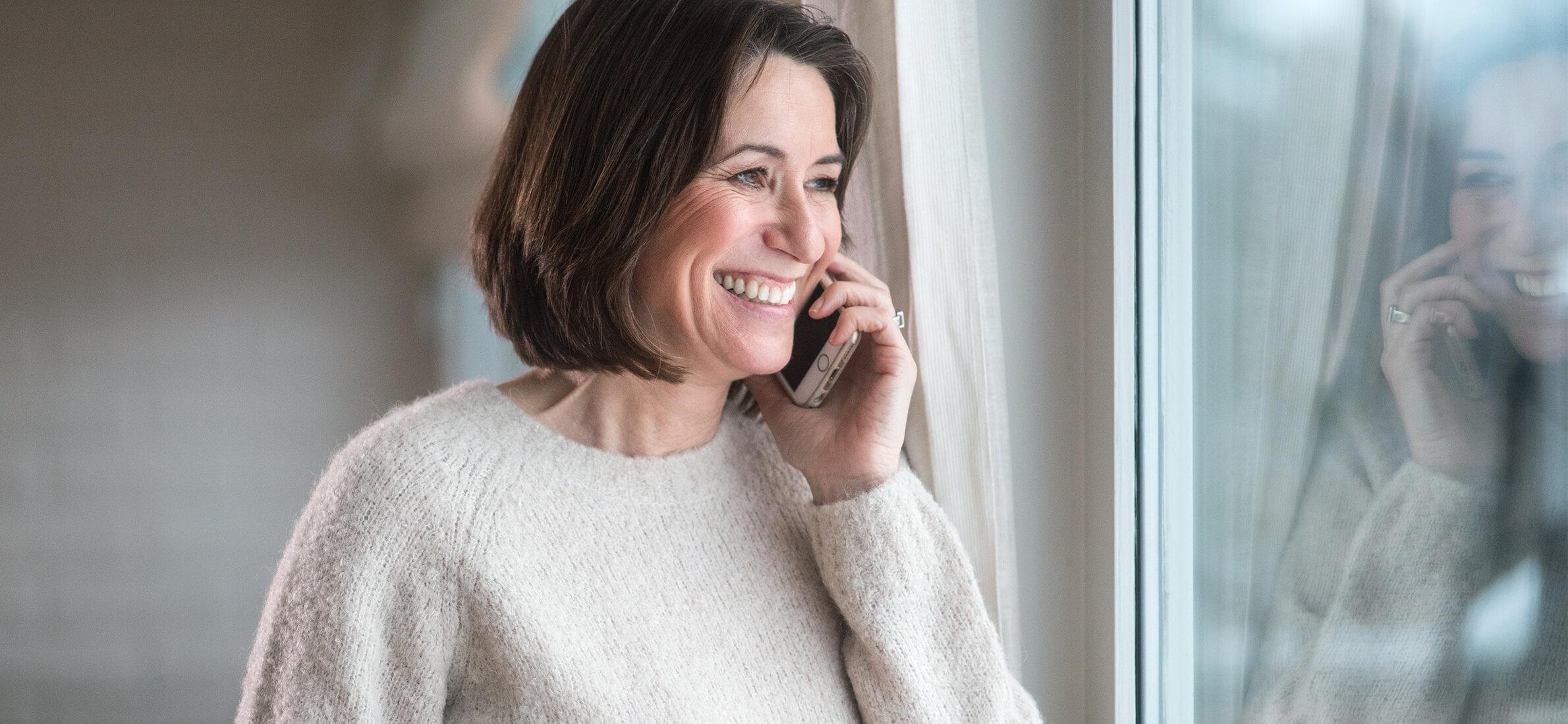 Med WiFi-tale kan du ringe som normalt, selv uten basestasjon-dekning.