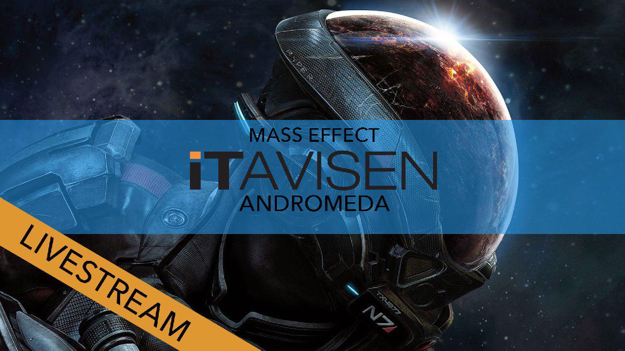 Vi strømmer Mass Effect Andromeda.