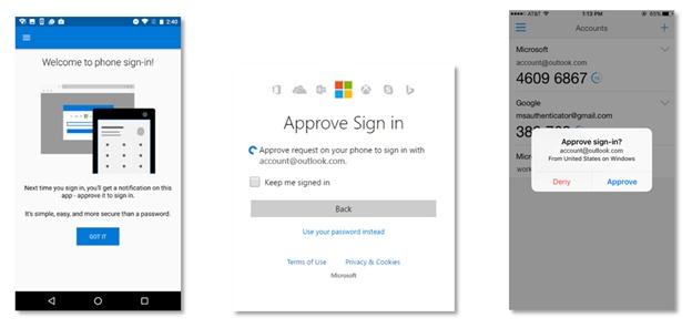 Nå kan du logge inn på Microsoft-kontoen din uten passord.